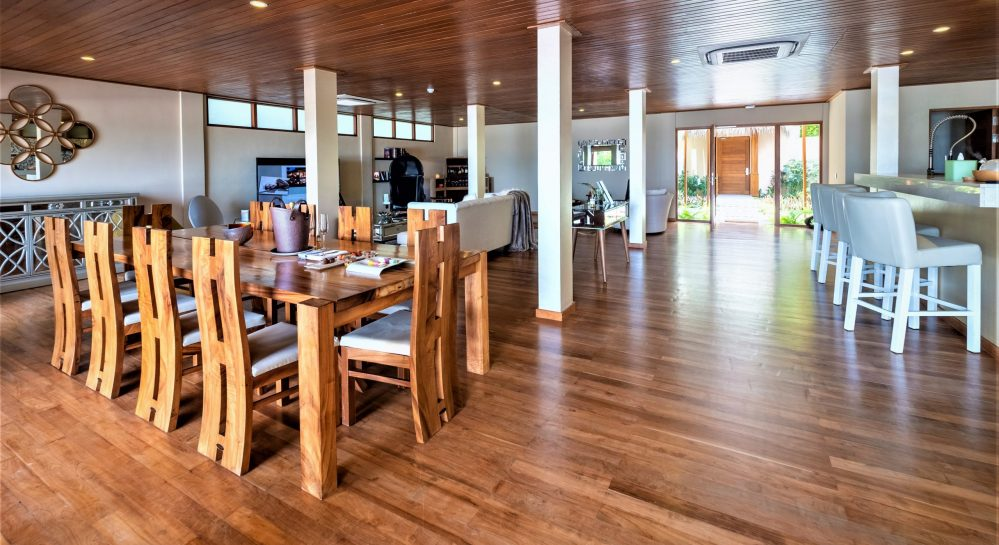 11 Huvafen Fushi Cube Ground Floor Living _ Dining Area