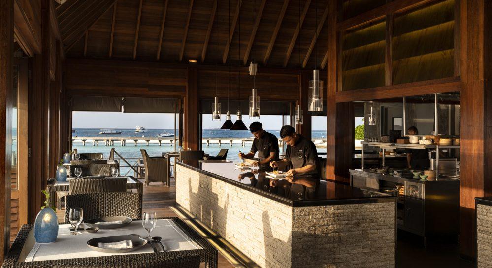 2 Huvafen Fushi Feeling Koi Open Kitchen 1