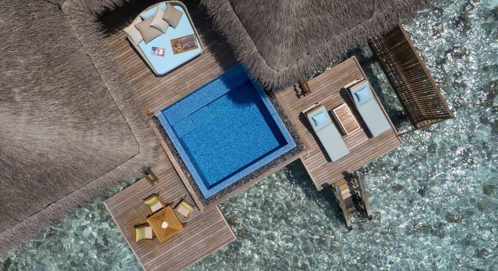 2 Huvafen Fushi Ocean Bungalow with Pool Ariel