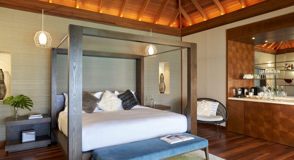 3 Huvafen Fushi Lagoon Bungalow with Pool Bedroom
