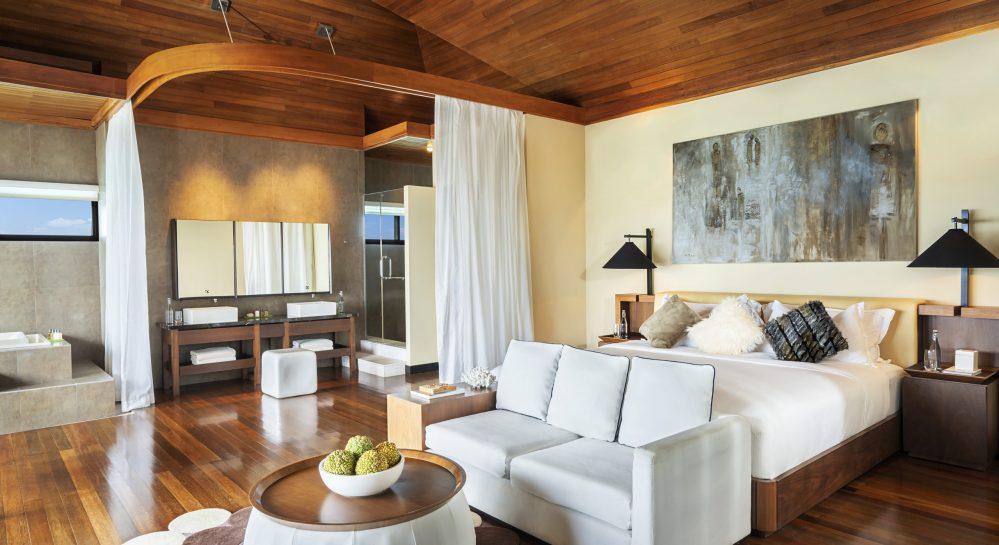 4 Huvafen Fushi Two Bedroom Ocean Pavilion Master Bedroom