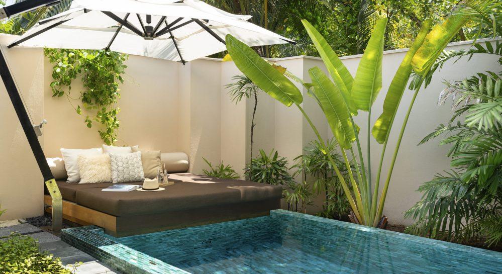 5 Huvafen Fushi Beach Bungalow with Pool Plunge Pool