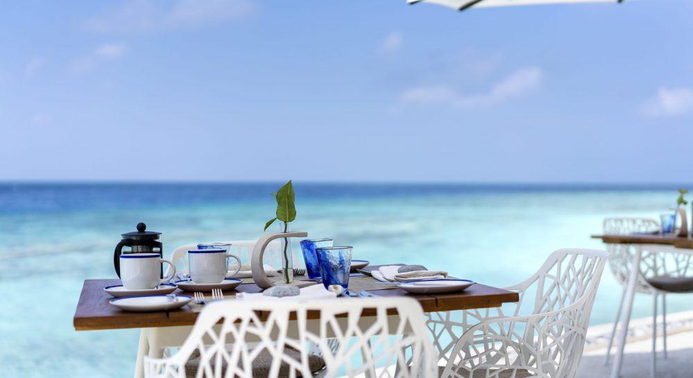 Huvafen Fushi Celsius Restaurant Outdoor Seating 1