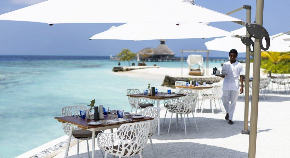 Huvafen Fushi Celsius Restaurant Outdoor Seating 2