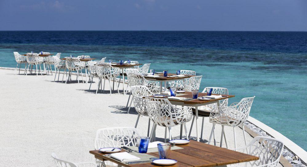 Huvafen Fushi Celsius Restaurant Outdoor Seating 3